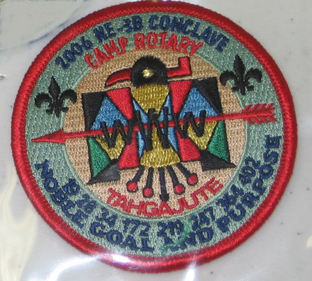 Section NE-3B 2006 Conclave Staff Patch