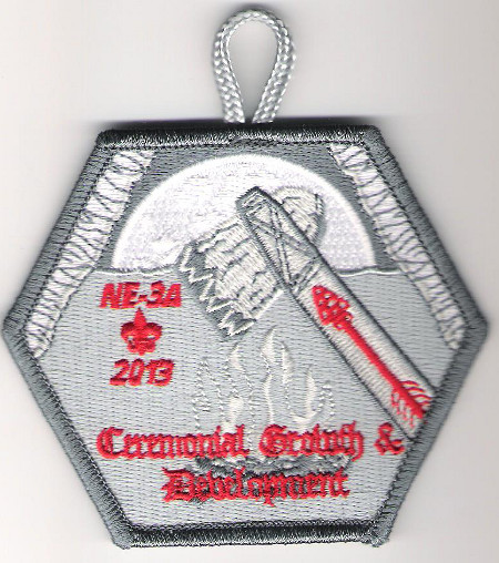 Section NE-3A 2013 Conclave Ceremonial Growth and Development Patch