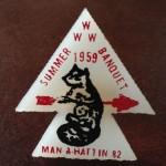 Man-A-Hattin Lodge #82 1959 Summer Banquet Slide eNS1959