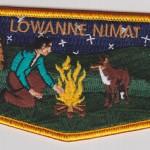 Lowanne Nimat Lodge #219 New Regular Issue Flap S13