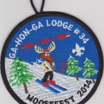Ga-Hon-Ga Lodge #34 2014 Moosefest eR2014