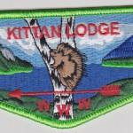 Kittan Lodge #364 New Regular Issue Flap S27