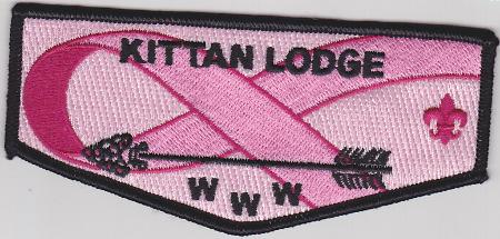 Kittan Lodge #364 Cancer Awareness Flap S28