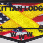 Kittan Lodge #364 Support the Troops Flap S29