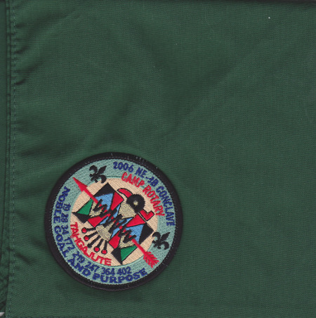 Section NE-3B 2006 Conclave Neckerchief