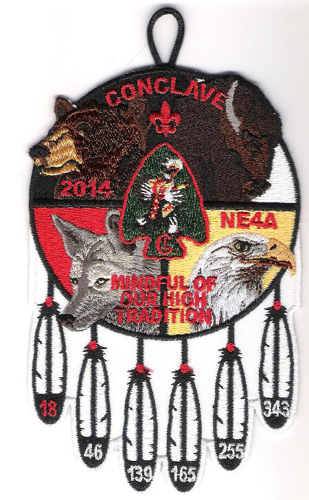 Section NE-4A 2014 Conclave Participant Patch