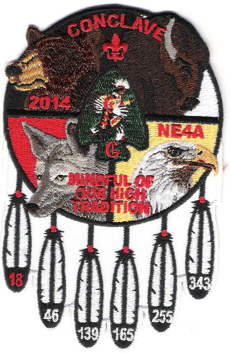 Section NE-4A 2014 Conclave Pocket Patch