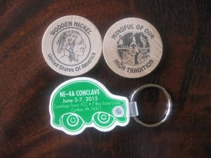 Section NE-4A 2014 Wooden Nickel
