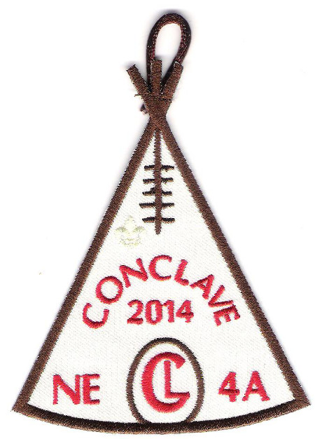 Section NE-4A 2014 Conclave Promo Patch
