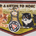 "Kittan Lodge #364 ""Send a Kittan to NOAC 2015"" Fundraiser Flap S32"
