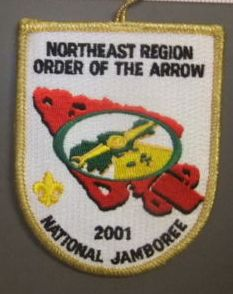 Northeast Region OA 2001 Jamboree Region Chief Issue