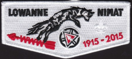 Lowanne Nimat Lodge #219 Centennial Flap S15