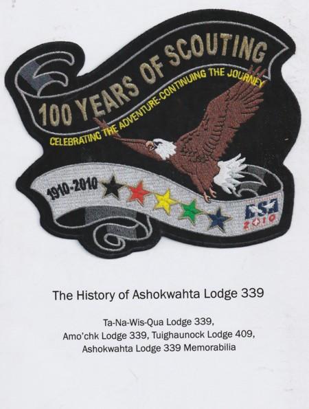 The History of Ashokwahta Lodge #339 Book