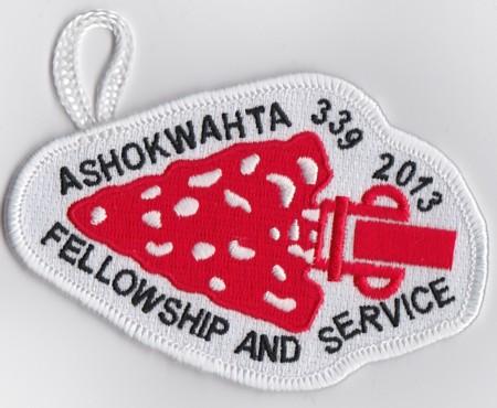 Ashokwahta Lodge #339 2013 Fellowship and Service eA2013-1