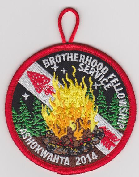 Ashokwahta Lodge #339 Brotherhood Fellowship Service eR2014