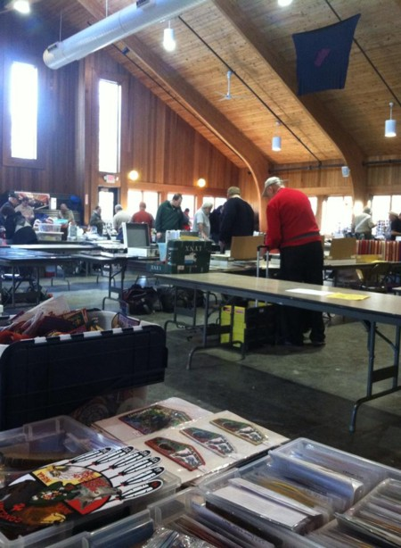 Dealer setup during the 19th Annual TOR