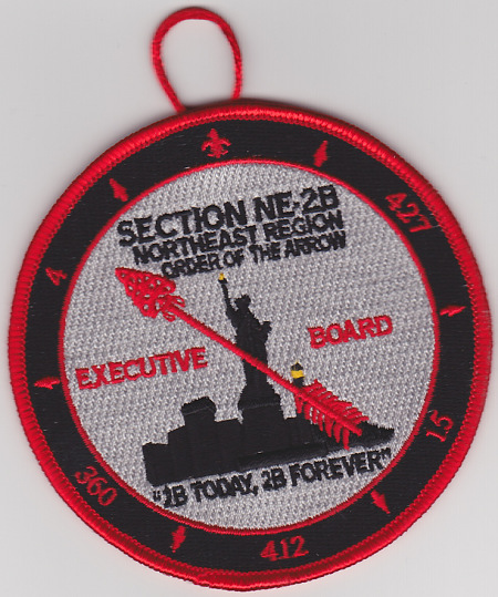 Section NE-2B Executive Board Round - 2B Today, 2B Forever
