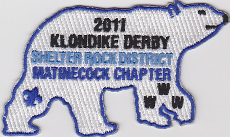 Buckskin Lodge #412 Matinecock Chapter 2011 Klondike Derby eX2011