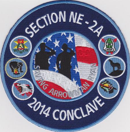 Section NE-2A 2014 Conclave Jacket Patch