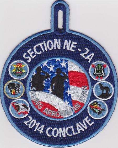 Section NE-2A 2014 Conclave Participant Patch