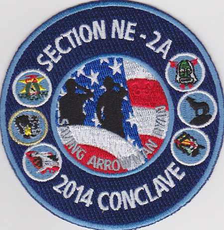 Section NE-2A 2014 Conclave Trading Post Patch