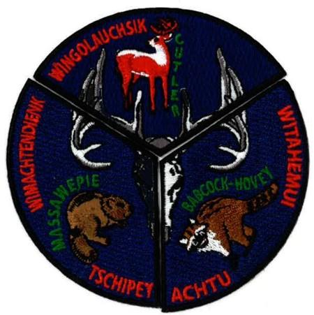 Tschipey Achtu Lodge #95 Camp Service Set X6,7,8