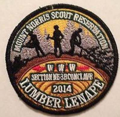 Section NE-3B 2014 Conclave Pocket Patch