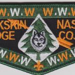 Buckskin Lodge #412 New Regular Issue Flap S74