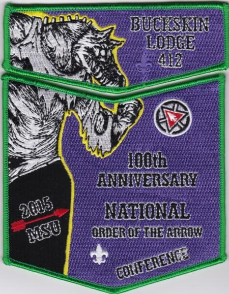 Buckskin Lodge #412 2015 NOAC Fundraiser Set S75X25