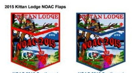 Kittan Lodge #364 2015 NOAC Sets Artists Rendition