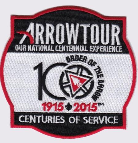 ArrowTour 2015 Pocket Patch