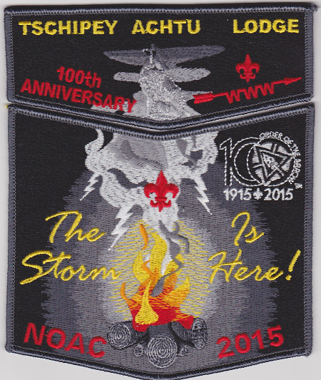 Tschipey Achtu Lodge #95 2015 NOAC Fundraiser Set S14/X9