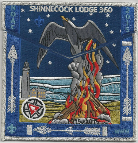 Shinnecock Lodge #360 2015 NOAC Delegate Set S44/X22