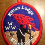 Kittan Lodge #364 Red Elangomat Oval X17