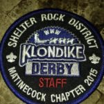 Buckskin Lodge #412 Matinecock Chapter 2015 Klondike Derby Staff eX2015-2