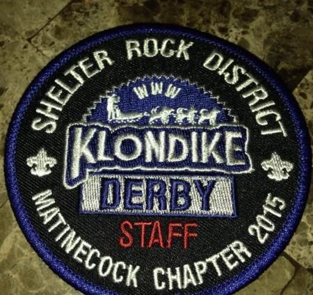 Buckskin Lodge #412 Matinecock Chapter 2015 Klondike Derby Staff eX2015-2