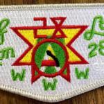 Half Moon Lodge #28 100 Anniversary OA Vigil Flap S48