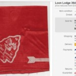 State of the Hobby – Loon Lodge 364 first neckerchief