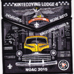 Kintecoying Lodge #4 2015 NOAC Delegate Set S7/X4