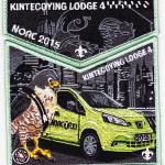 Kintecoying Lodge #4 2015 NOAC Trader Set S6/X3