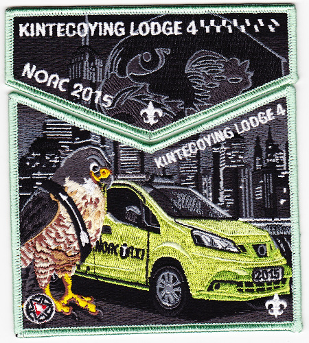 Kintecoying Lodge #4 2015 NOAC Trader Set S6/X3