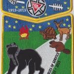Nacha Nimat Lodge #86 100th Anniversary OA 2-Piece Set S52 X34
