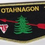 Otahnagon Lodge #172 OA Centennial Flap S31