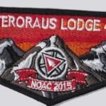 Onteroraus Lodge #402 2015 NOAC Flap S59