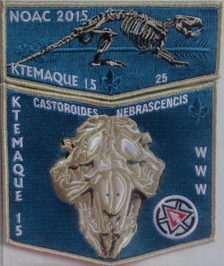 Ktemaque Lodge #15 NOAC 2015 Fundraiser Set S65 X36