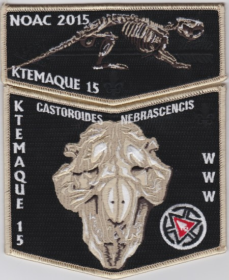 Ktemaque Lodge #15 NOAC 2015 Delegate Set S66 X37