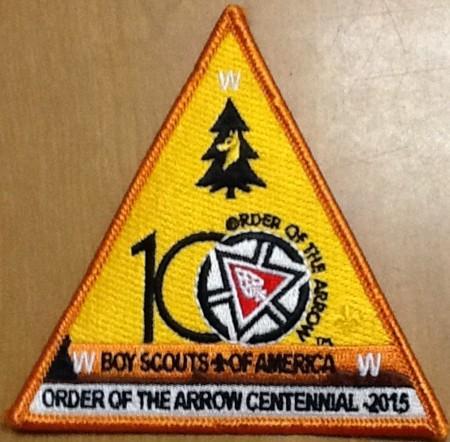 Buckskin Lodge #412 OA Centennial Triangle X30