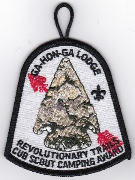 Ga-Hon-Ga Lodge #34 2015 Cub Scout Camping Award X13