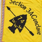 Section NE-3A 1974 Conclave Neckerchief Discovery – Ribbon Border