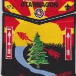 Otahnagon Lodge #172 2015 NOAC Set 1 S32 X5